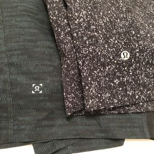 Two (yes two!) Lululemon Surge Shorts with liners